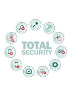 آنتی ویروس کسپرسکی توتال سکیوریتی برای شرکت ها و سازمان ها