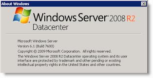 windows server 2008 Datacenter R2