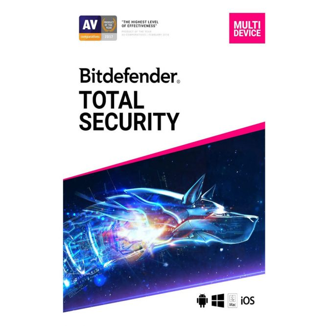 آنتی ویروس Bitdefender Total Security