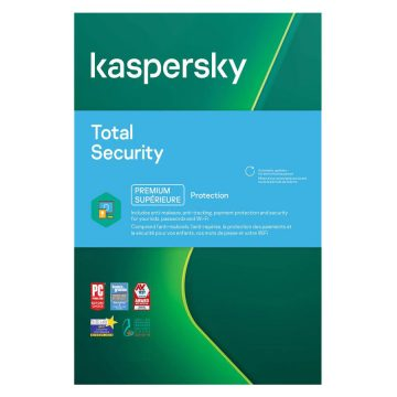 با خرید kaspersky total security