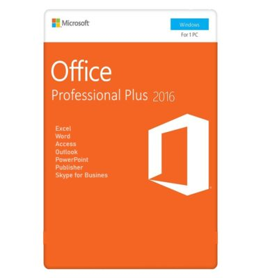 مایکروسافت آفیس 2016 پروفشنال پلاس 1 کاربر