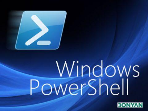 تصویر Windows PowerShell