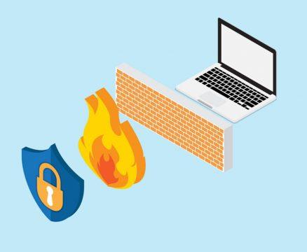 یک دیوار آتشین از سیستم شما محافظت می کند