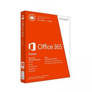 مایکروسافت آفیس 365 هوم 5 کاربر