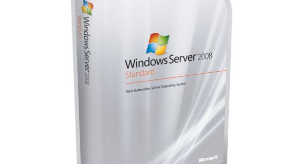 مایکروسافت ویندوز سرور 2008 استاندارد