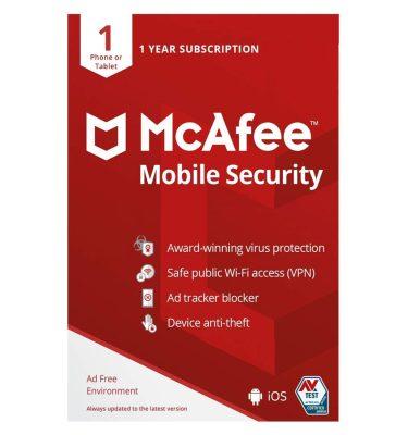 آنتی ویروس مکافی موبایل سکیوریتی،خرید آنتی ویروس موبایل مکافی