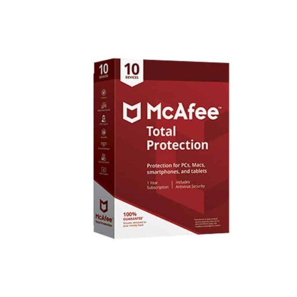 آنتی ویروس مکافی توتال پروتکشن برای ویندوز، مک، اندروید، آیفون و آی پد