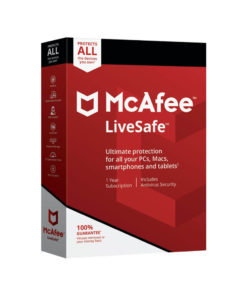 خرید مکافی لایوسیف(LiveSafe)