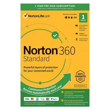تصویر آنتی ویروس Norton 360 Standard