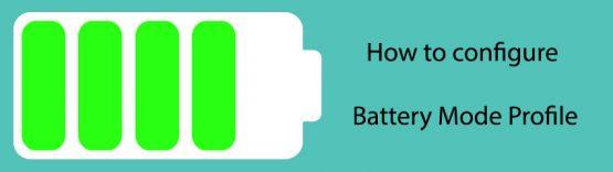 چگونه باتری مود را در آنتی ویروس بیت دیفندر پیکربندی کنیم