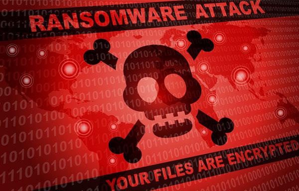تصویری از حمله باج افزار!