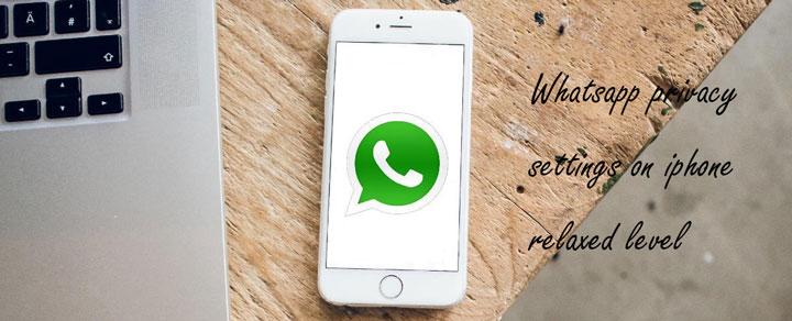 تنظیمات حریم خصوصی واتساپ در آیفون – سطح ساده