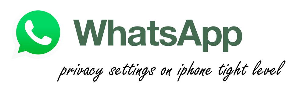 تنظیمات سطح بالای واتساپ در آیفون