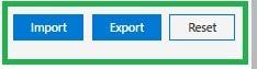 روی Export کلیک کنید.
