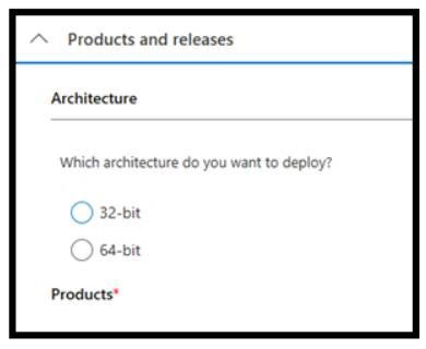 گزینه 64-bit را انتخاب کنید.